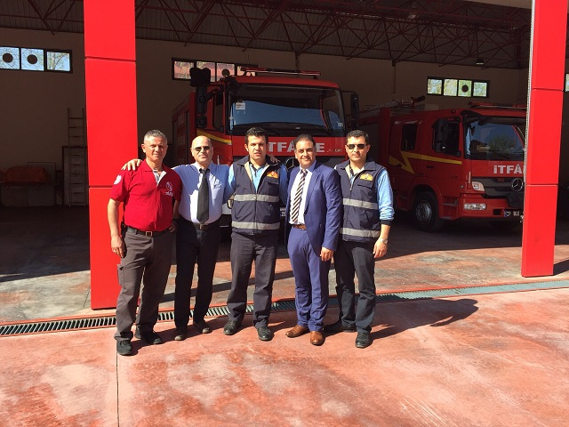 برگزاری کلاس آموزشی در آتش نشانی Denizli ترکیه
