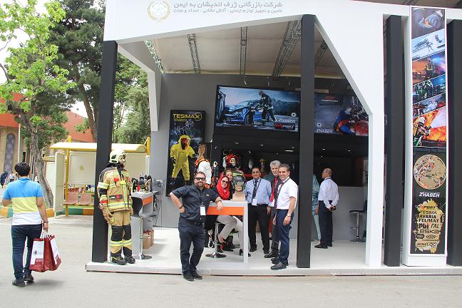 حضور شرکت ژرف اندیشان به ایمن دربیست ویکمین نمایشگاه بین المللی نفت و گاز